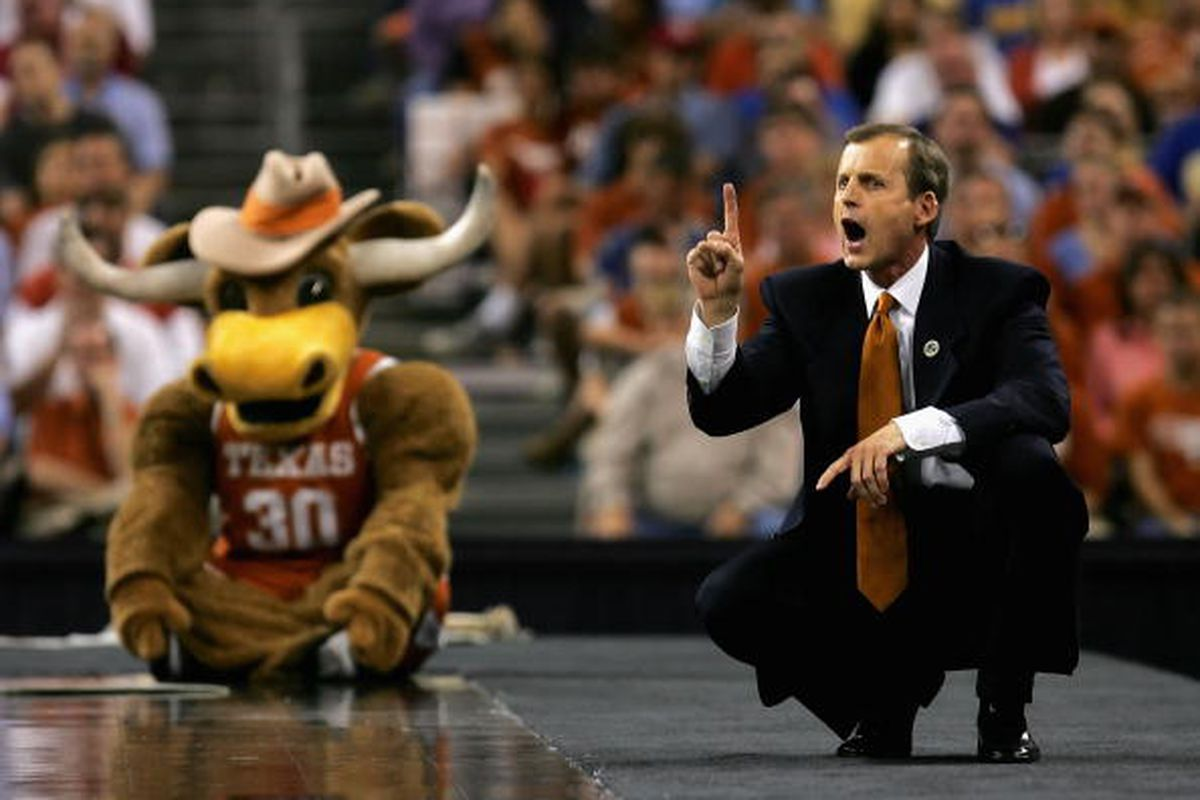 <strong>Texas coach Rick Barnes will have no problem laying low with most experts picking Kansas to win the Big 12.</strong>