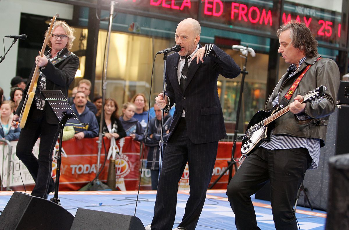 R.E.M. Performs On NBC's 'Today' Show