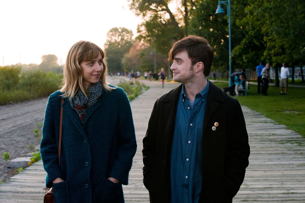 Daniel Radcliffe and Zoe Kazan star in What If, a charming romantic comedy