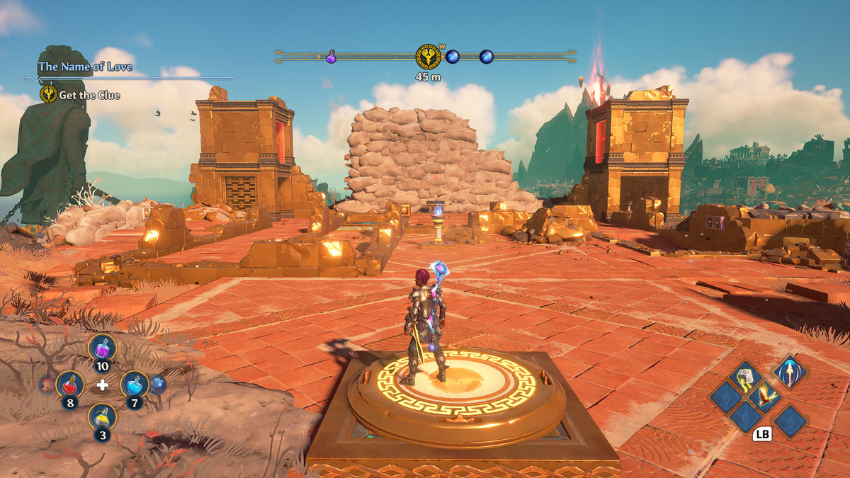 The Name of Love puzzle solution in Immortals Fenyx Rising
