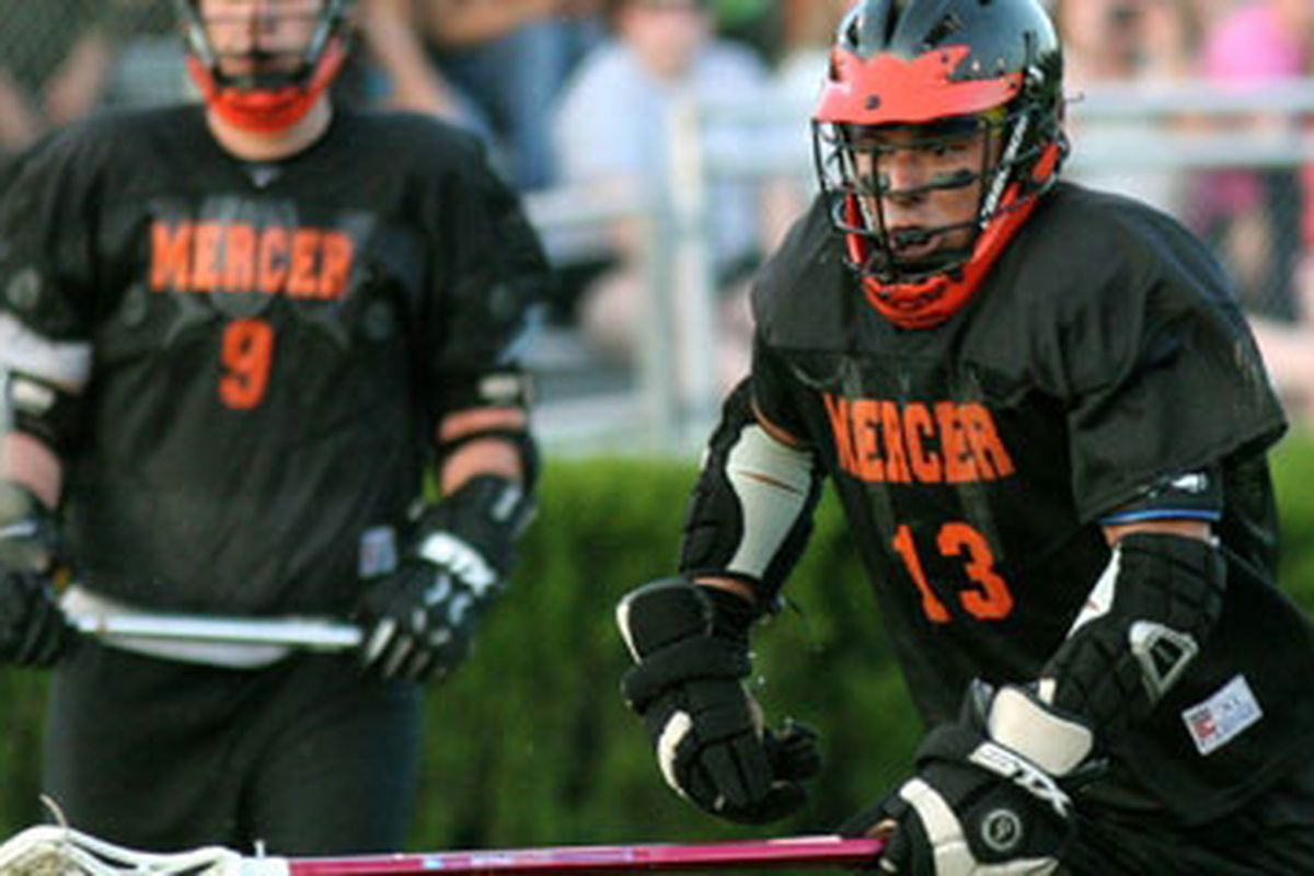 """Question: Can Mercer beat Presbyterian today? Answer: I don't care. via <a href=""""http://www.mercer.edu/features/images/Lacrosse.jpg"""">www.mercer.edu</a>"""