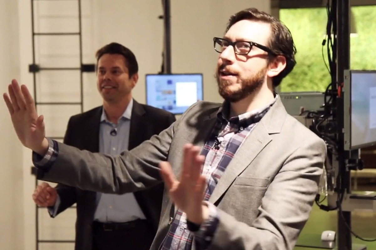 Josh at Microsoft Envisioning Lab