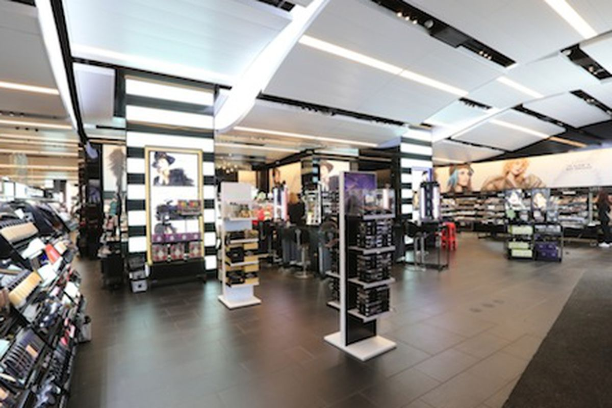 The Sephora in Times Square