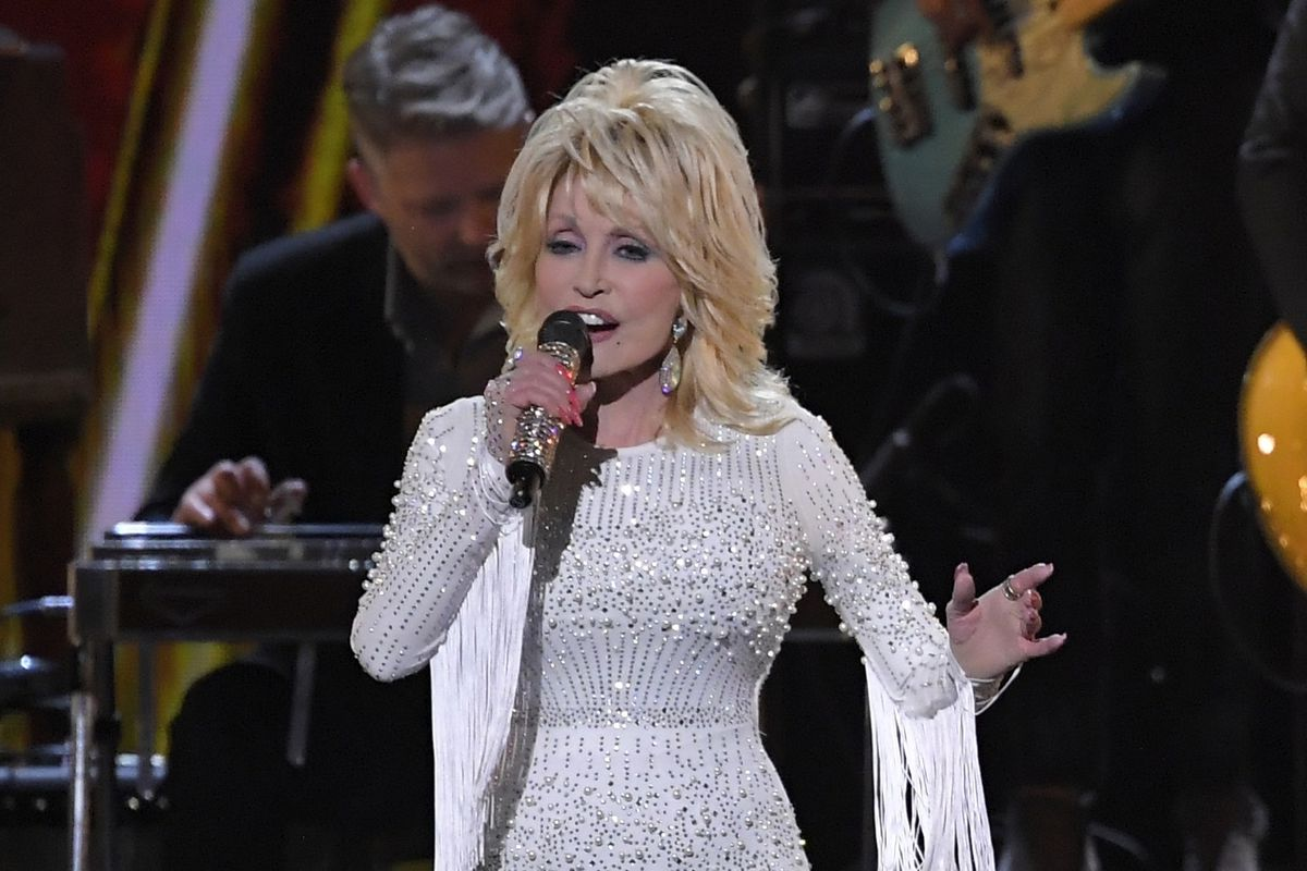 Dolly Parton performs at the 53rd annual CMA Awards in Nashville, Tennessee, in 2019.