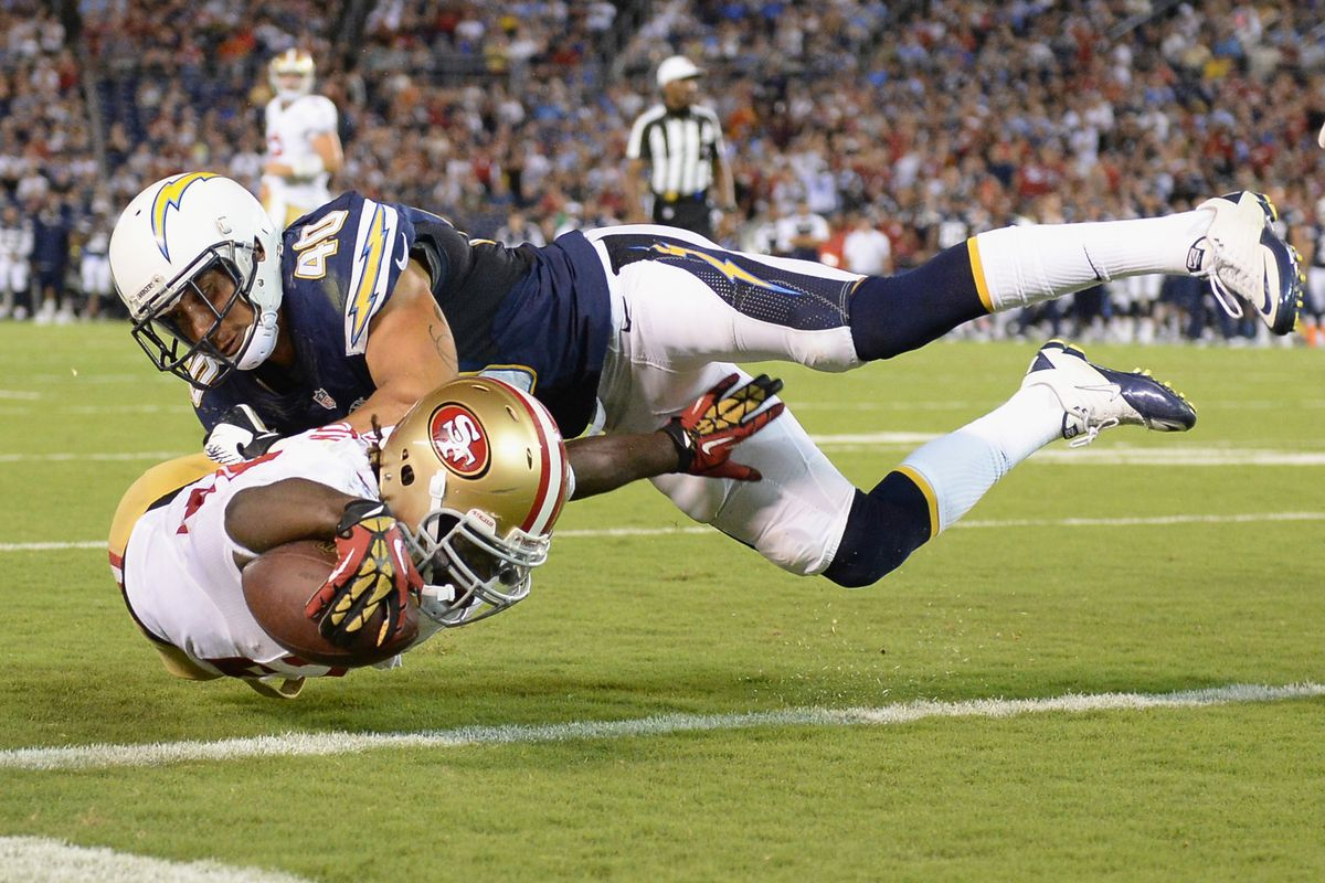 49ers Vs Chargers Final Score San Francisco Cruises To