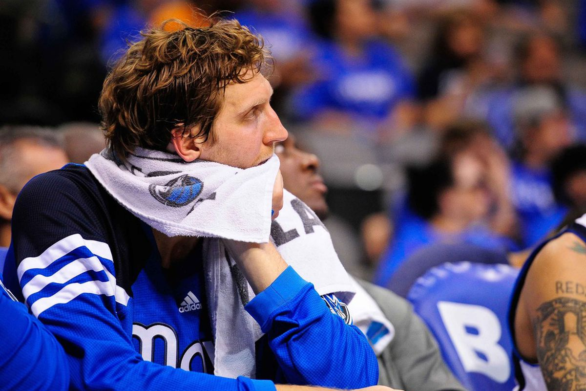 Many things about the Mavs have changed, but Dirk remains.