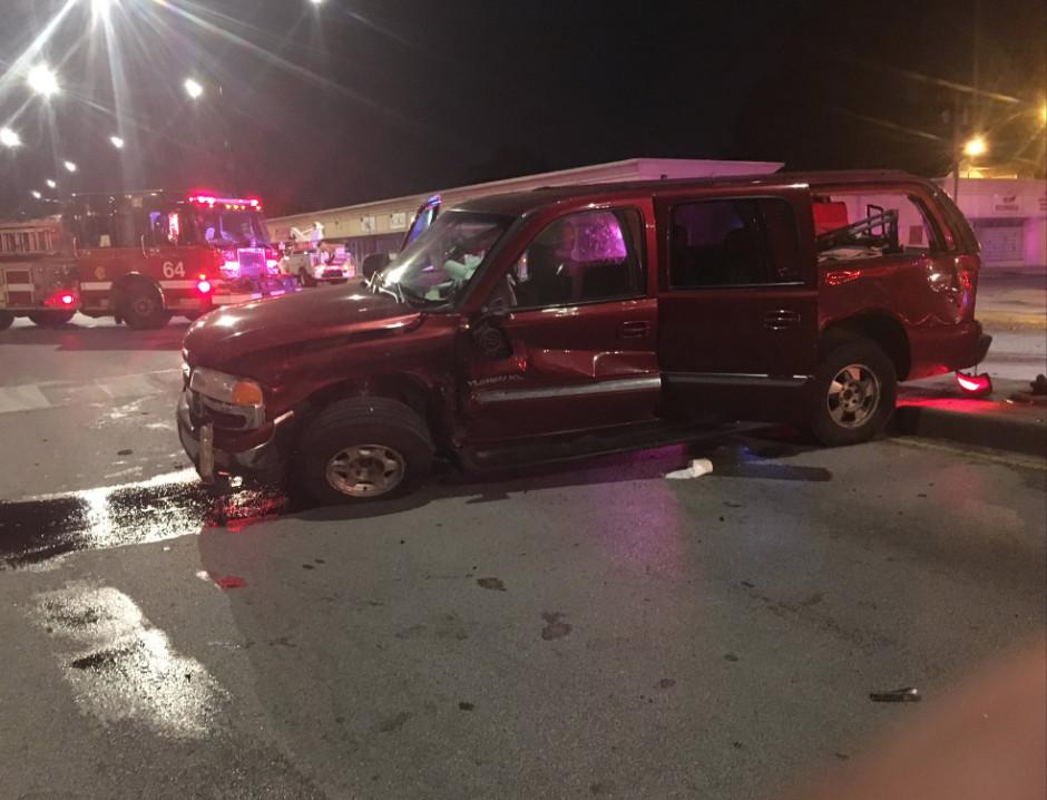Teens were in a car crash on their prom night.