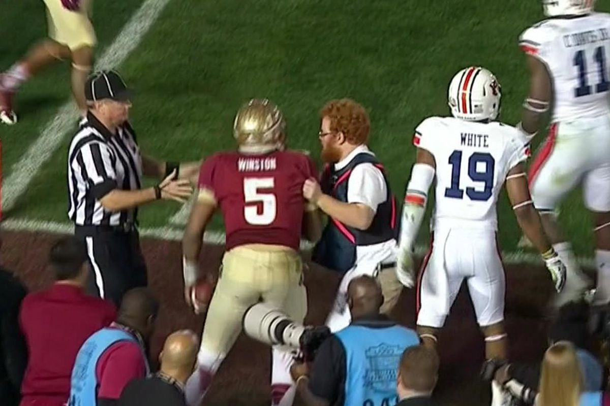 red lightning is florida state s savior in first half of dismal bcs