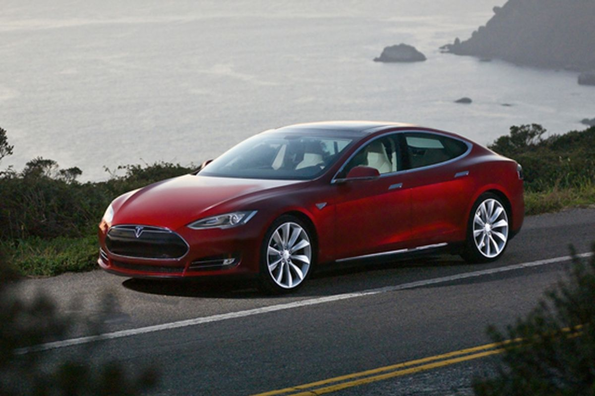 Tesla Model S stock