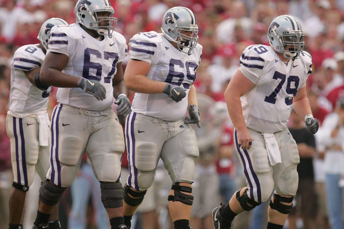 Reed Bergstrom reminds me a little bit of Prince-era offensive lineman Caleb Handy. They wear the same number, too.