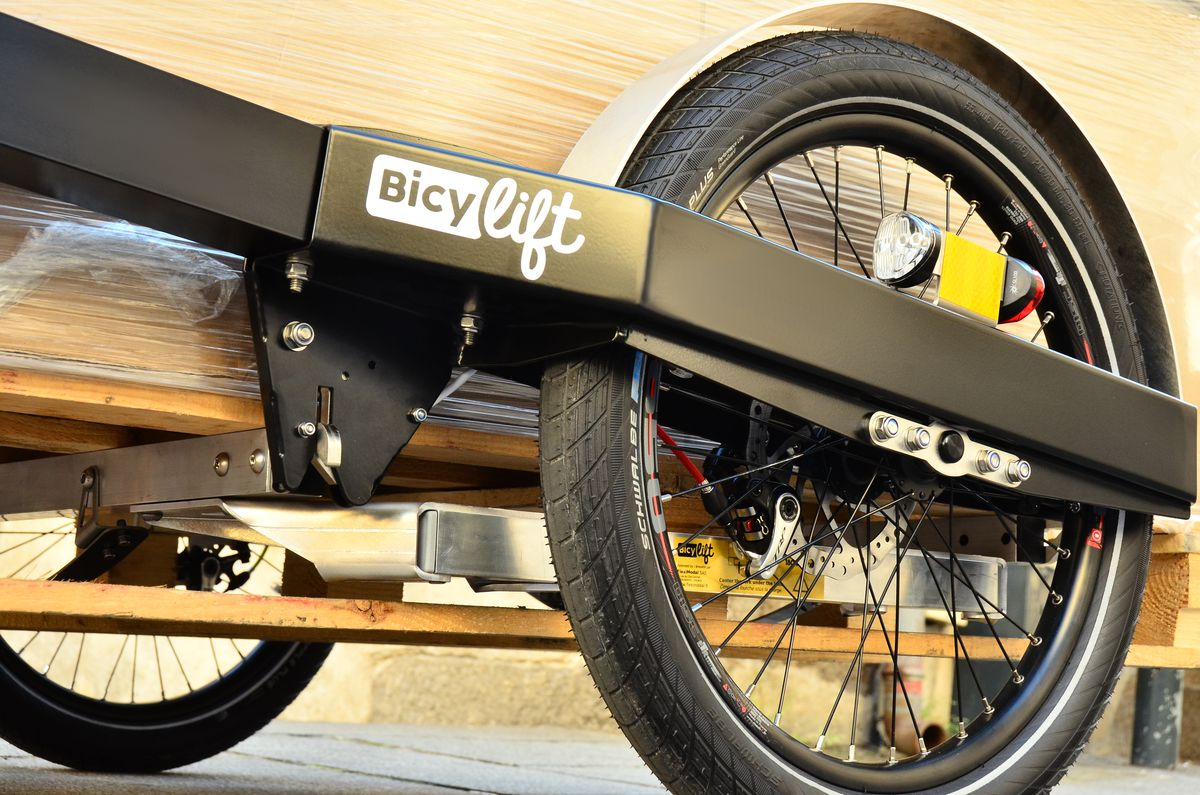 The bike trailer that could replace city delivery trucks - Curbed