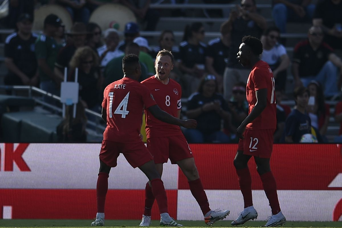 Soccer: CONCACAF Gold Cup-Canada at Martinique
