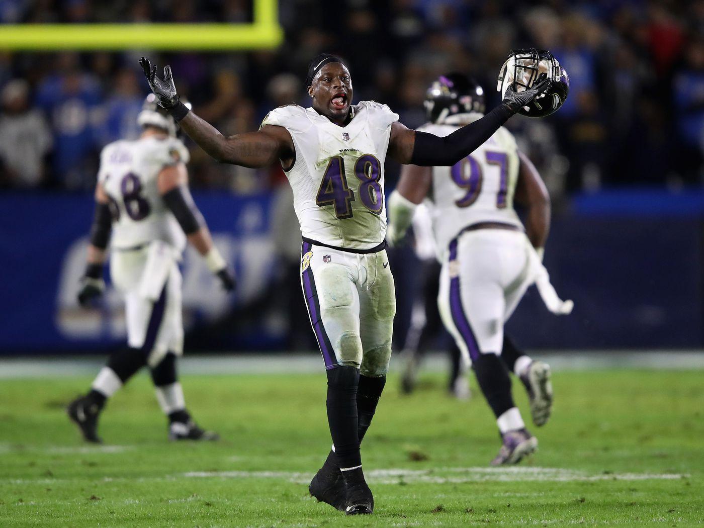 Ravens linebackers Patrick Onwuasor & Kenny Young return to ...