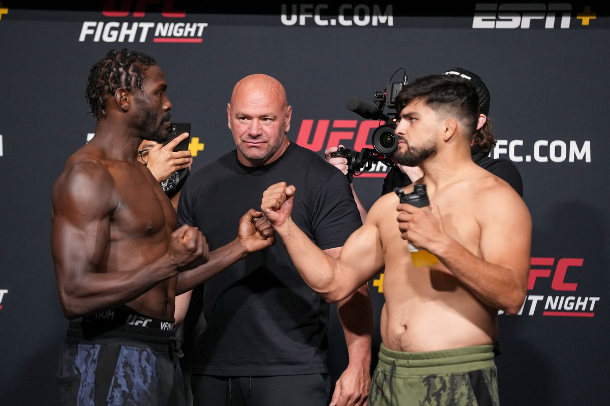 MMA: AUG 20 UFC Vegas 34 Official Weigh-In