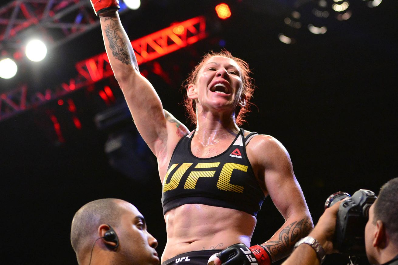 Midnight Mania! Cris Cyborg vs Tonya Evinger set for UFC 214 with Megan Anderson out