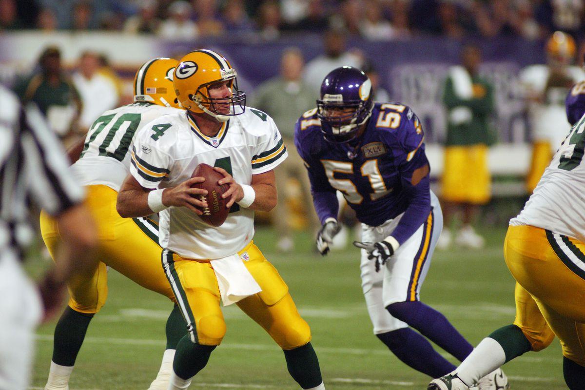 Green Bay Packers Quarterback Brett Favre