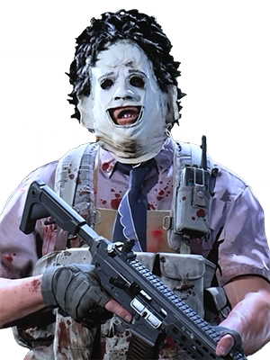 The Leatherface skin from Call of Duty: Warzone