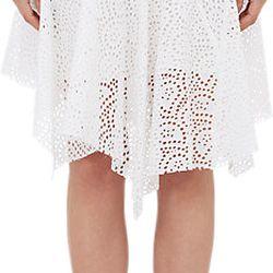 """Isabel Marant Volta eyelet skirt, <a href=""""http://www.barneys.com/isabel-marant-volta-eyelet-skirt-503650529.html#prefn1=onSale&sz=48&start=57&prefv1=Sale"""">$189</a> (from $750)"""