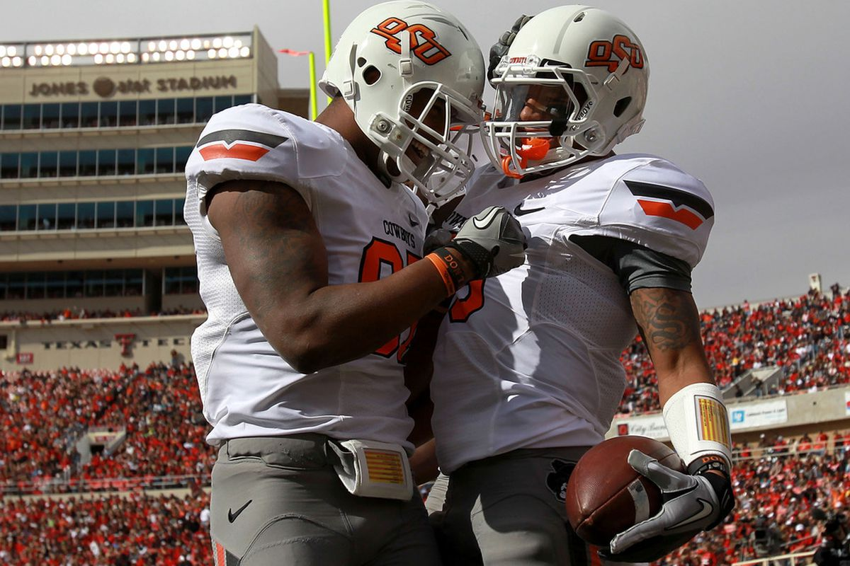 the best attitude a3def 6d0a4 2012 Oklahoma State Football Preview: The Art Of Gains ...