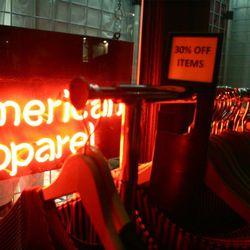 American Apparel sale in Soho. Photo by Randy Ceballos.