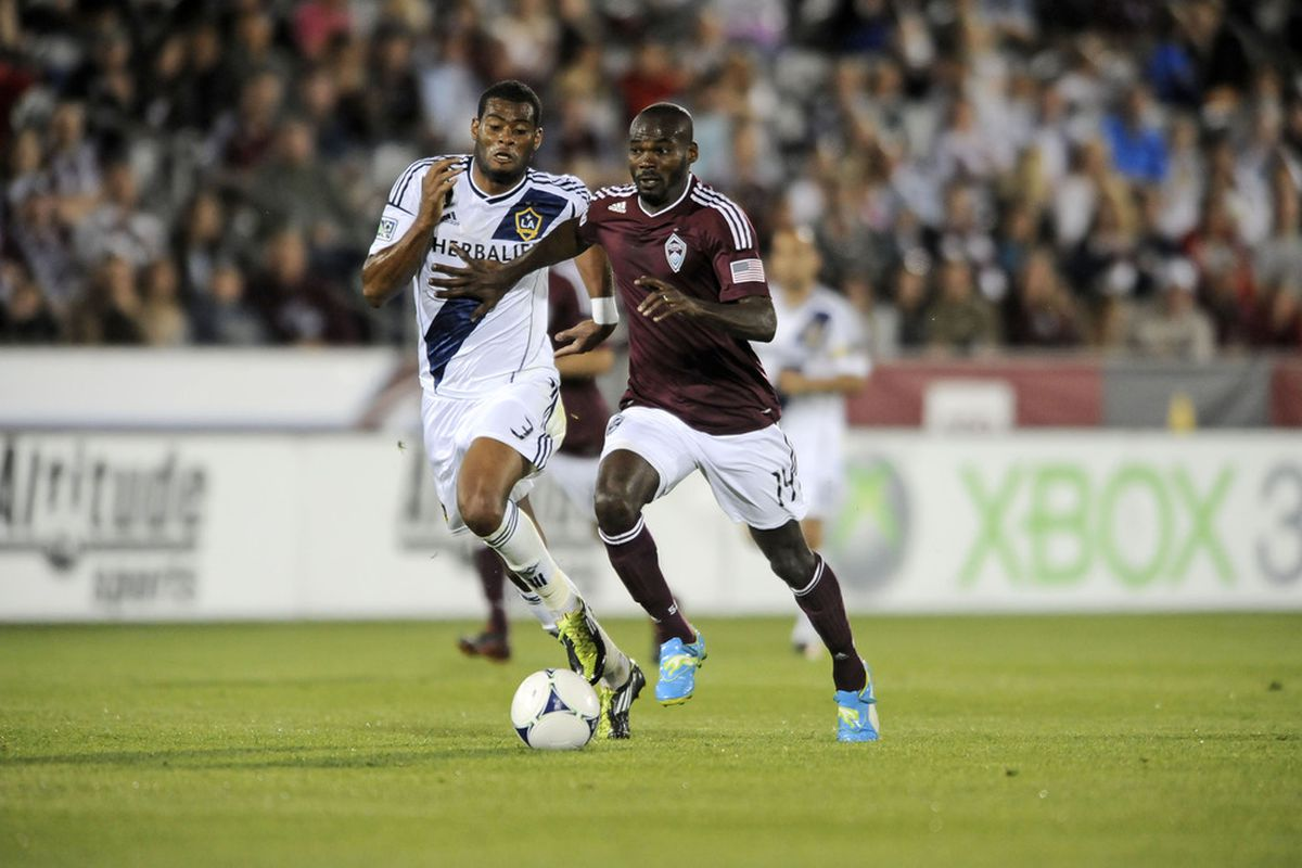 Omar Cummings has three goals in the young MLS season, but will he still see the field come Saturday?