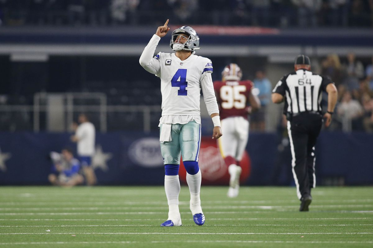 """Trolling The Nation for Redskins @ Cowboys: """"Every blitz they run Dak beats  them."""""""