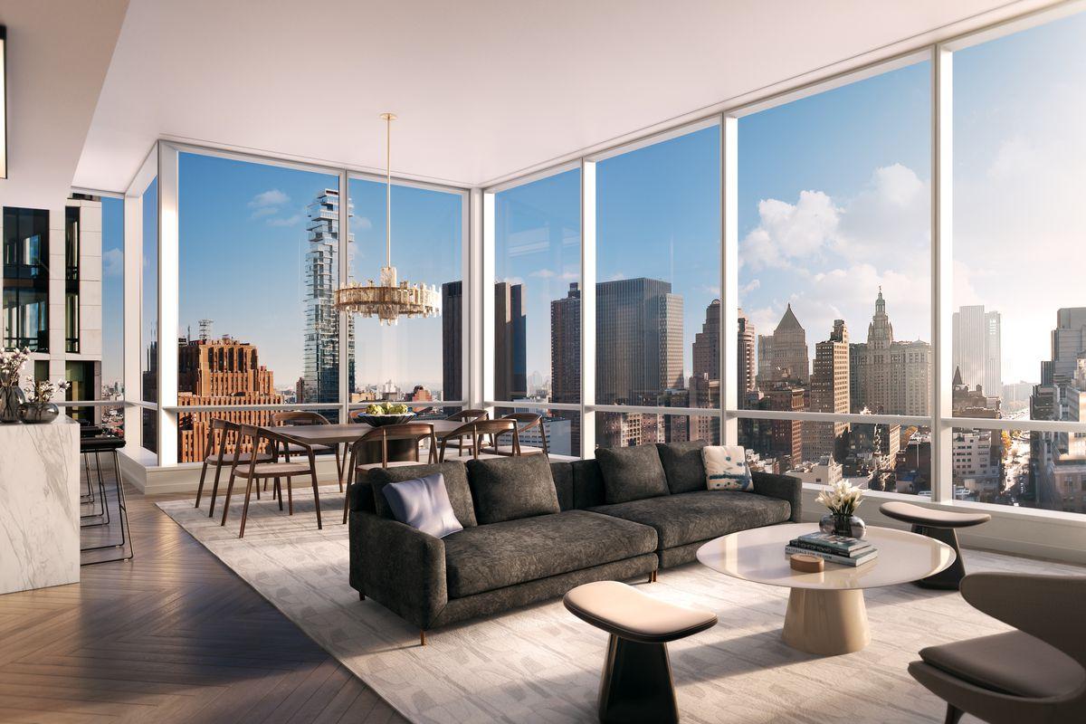Tribeca S 800 Foot Skyscraper 111 Murray Shows Off