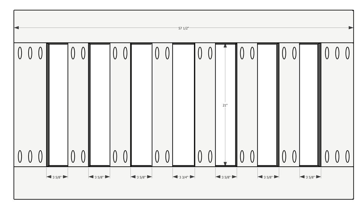 porch swing bench base plan