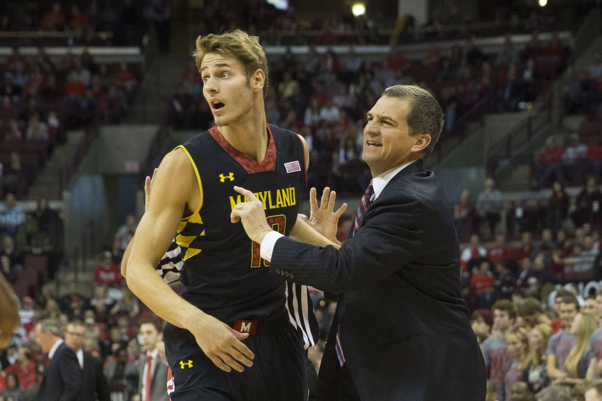 Jake Layman led the way for Maryland in a season-opening win over Wagner.