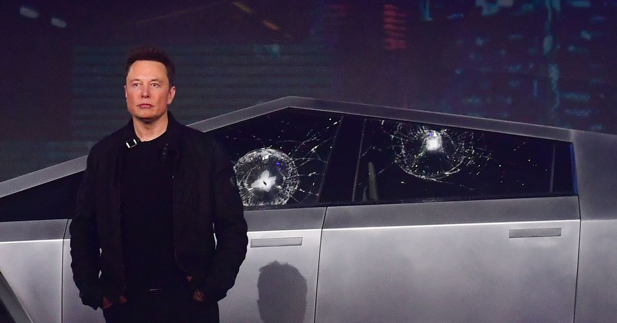 Elon Musk explains why Tesla's Cybertruck windows smashed during presentation