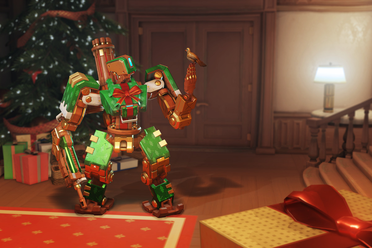 Overwatch Christmas.Log Into Overwatch And Score Five Free Loot Boxes Heroes
