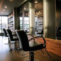 """In West Town, <a href=""""http://editsalons.com/"""">Edit Salon</a> [1369 West Chicago Avenue] has services including full and partial highlights, root touch-ups, allover color, and ombré. Head colorist Amy Mosser is also an accomplished <a href=""""http://amymose"""