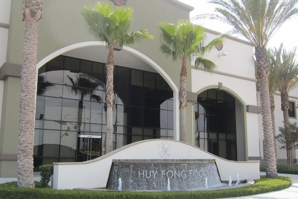 Huy Fong Foods, Irwindale, CA.
