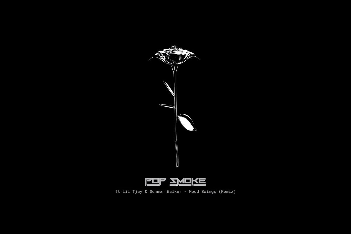 "Pop Smoke's ""Mood Swings (Remix)"" artwork"