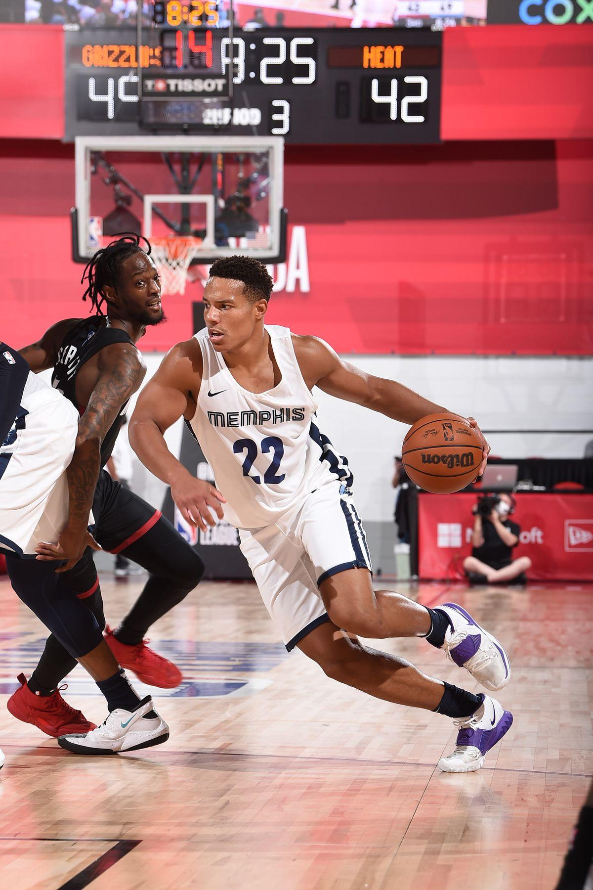 2021 Las Vegas Summer League - Miami Heat v Memphis Grizzlies