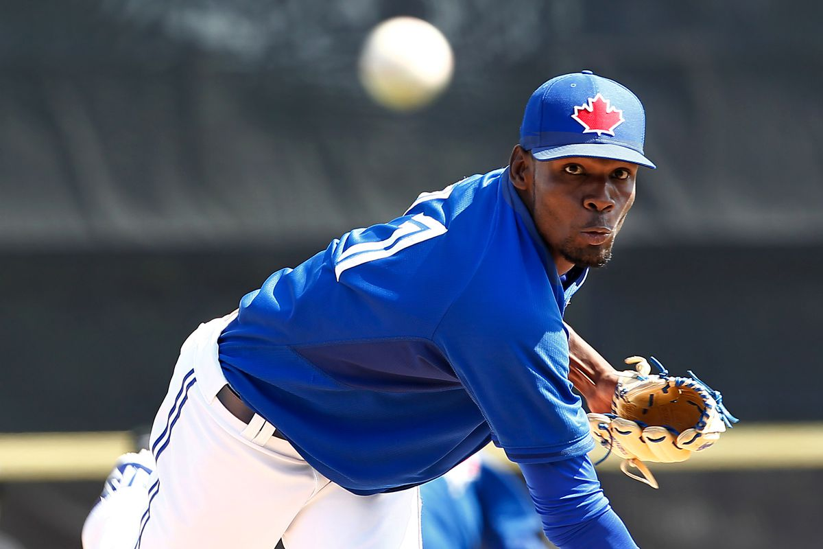 Miguel Castro is one of the fireballers acquired for Troy Tulowitzki