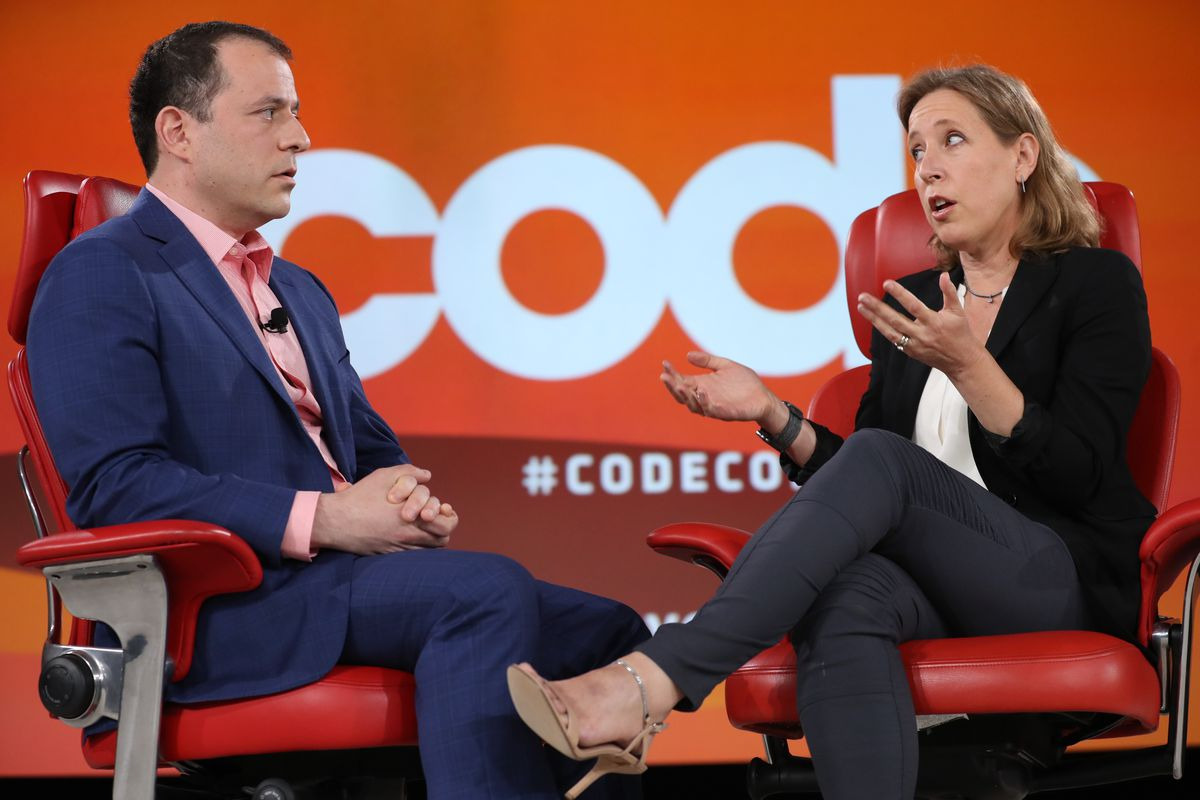 YouTube CEO Susan Wojcicki Code Conference interview
