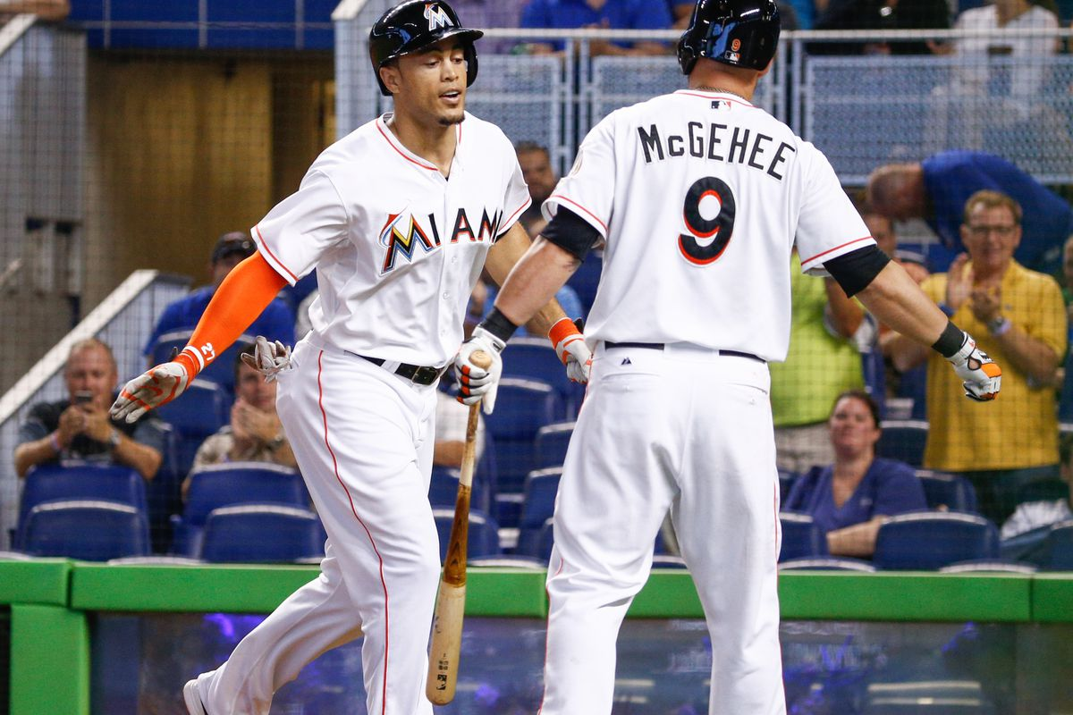 How much of Giancarlo Stanton's success is owed to Casey McGehee?