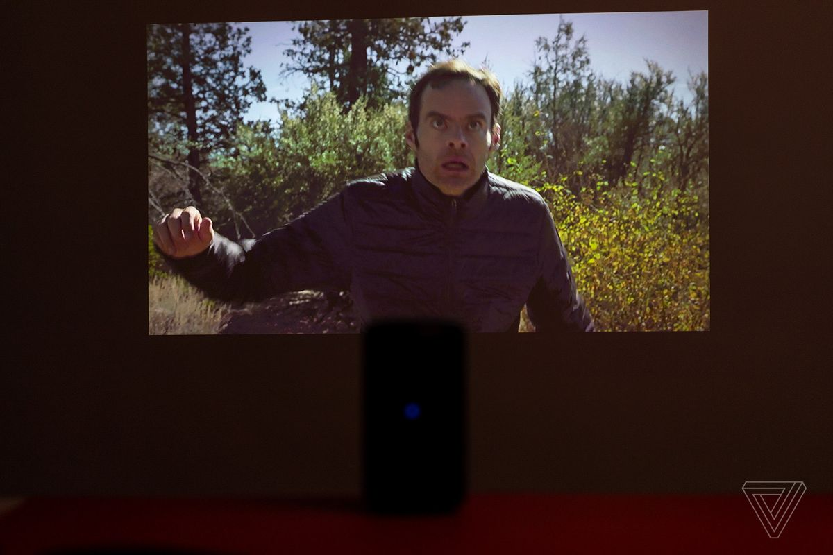 Nebula Capsule II mini projector review: TV in a can - The Verge