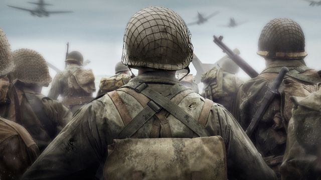 A photo of soldiers from Call of Duty: WWII