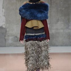 """""""Consuelo Castiglioni's fertile imagination is admirable. But the show needed an injection of that vital fashion quality: simplicity.""""—Suzy Menkes, <a href=""""http://www.nytimes.com/2014/02/24/fashion/tomas-maier-turns-soft-into-sharp-at-bottega-veneta.html"""