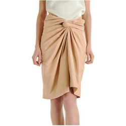 """<a href=""""http://www.barneyswarehouse.com/on/demandware.store/Sites-BNYWS-Site/default/Product-Show?pid=501711220&cgid=womens&index=36""""><b>The Row</b>  Franken Sarong Skirt</a>,  $1,149 (was $4,590)"""