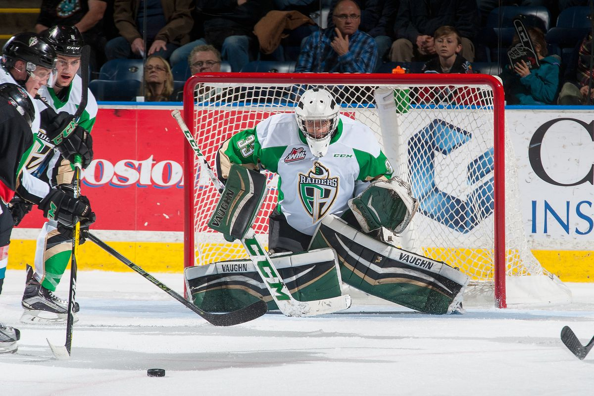 Ian Scott wins opening game for Team WHL in Canada Russia