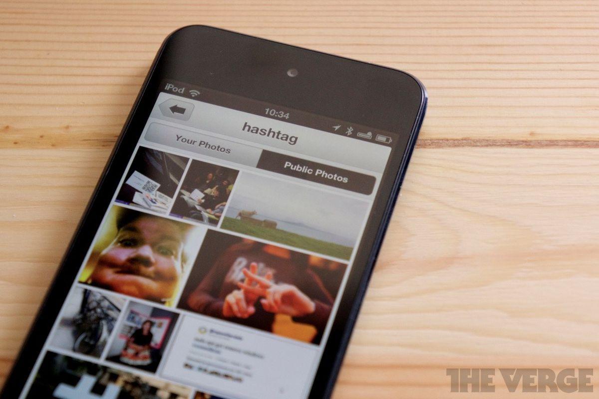 flickr iphone app hashtag