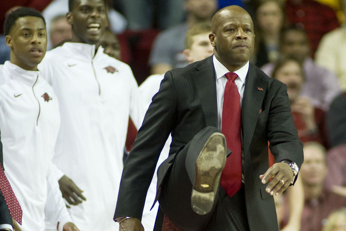 Mike Anderson and the Hogs have work left to do.