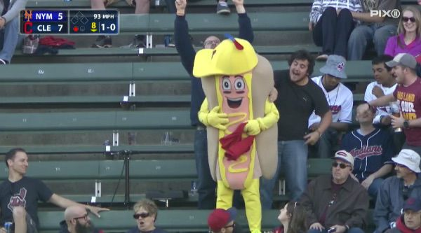 mustard hot dog
