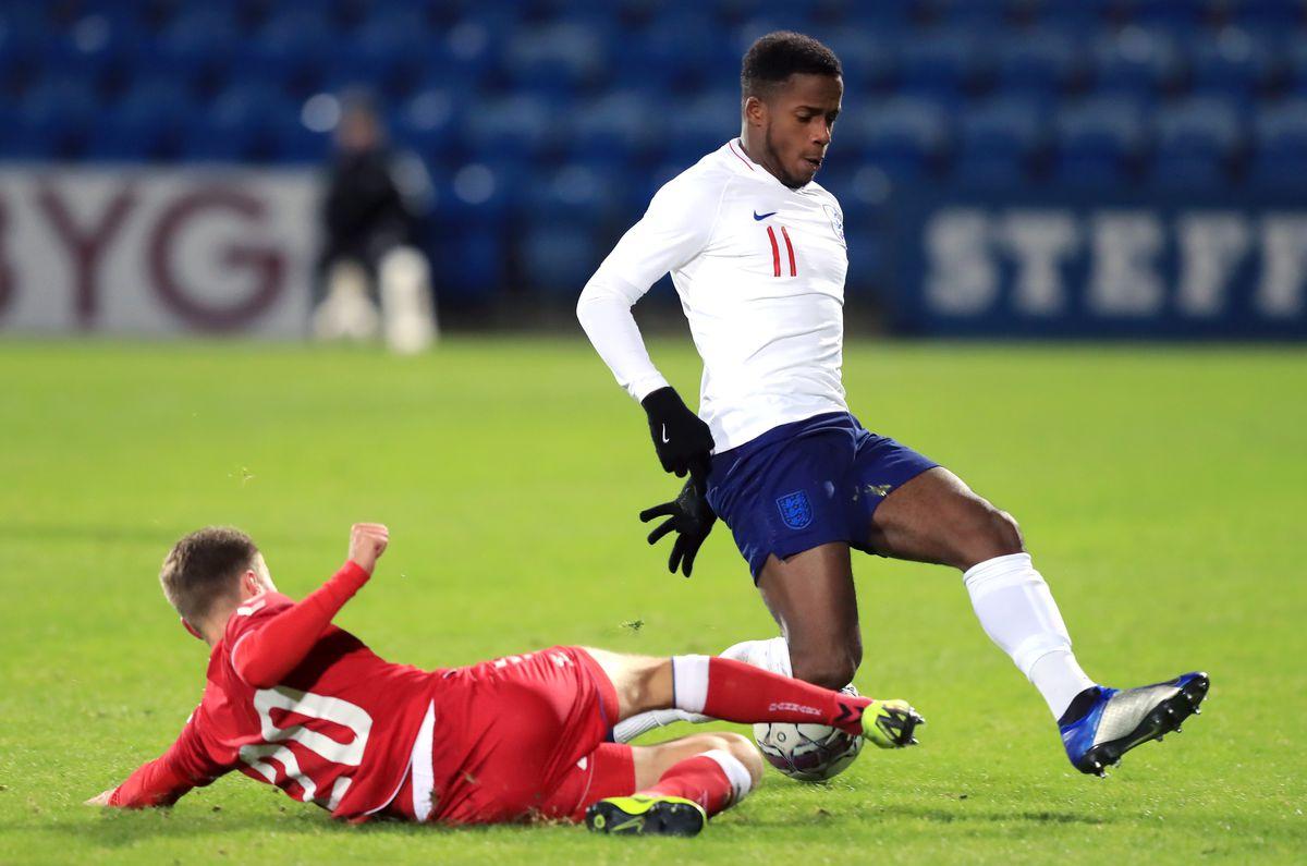 Denmark U21 v England U21 - International Friendly - Blue Water Arena