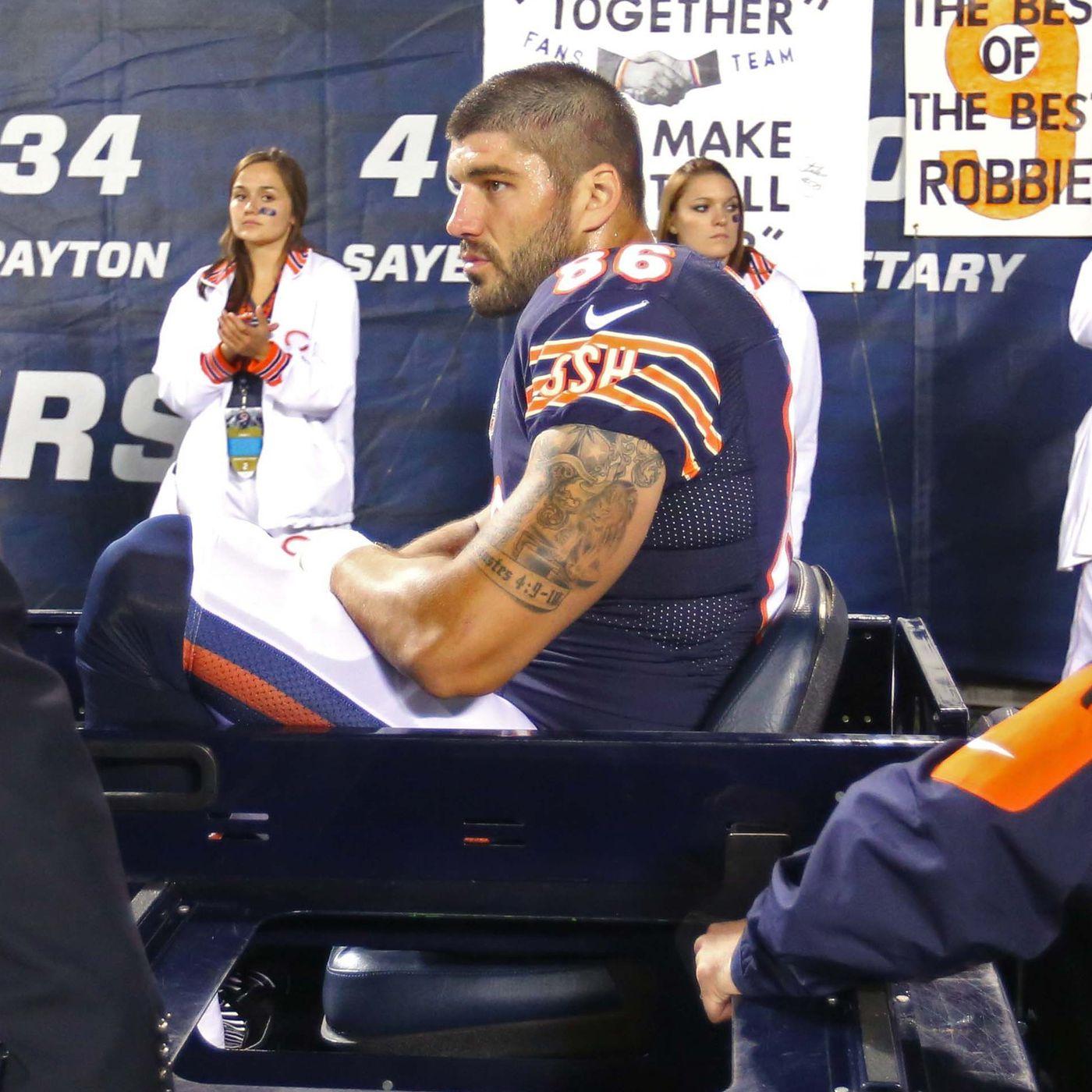 online store 860d2 eaf62 Chicago Bears place tight end Zach Miller on injured reserve ...