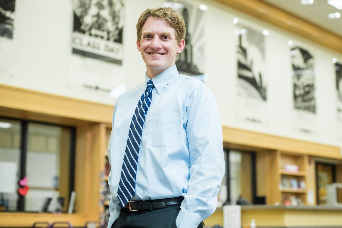 Scott Wolf, the principal of North High School in Denver.