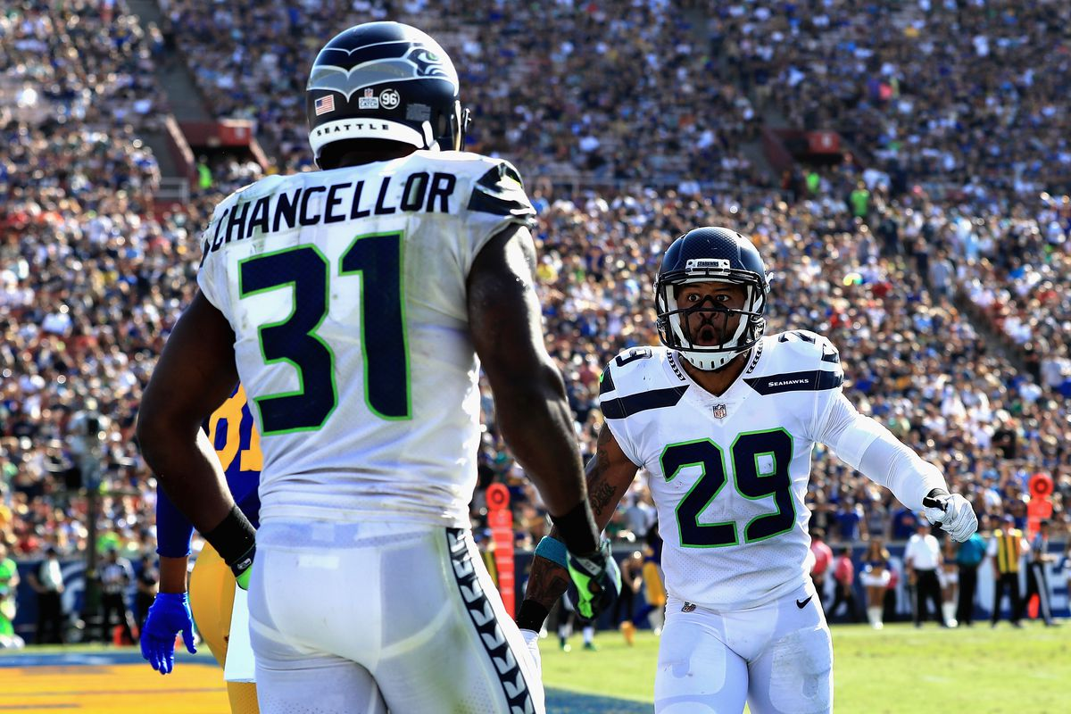 Report Kam Chancellor Seattle s tone setting safety may be out
